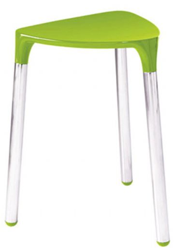 Gedy Yannis Stool Green/Chrome 2172-04